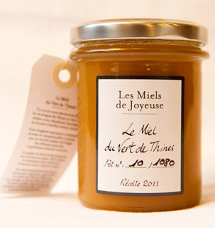 Vert de Thines 2011 honey, 250g jar